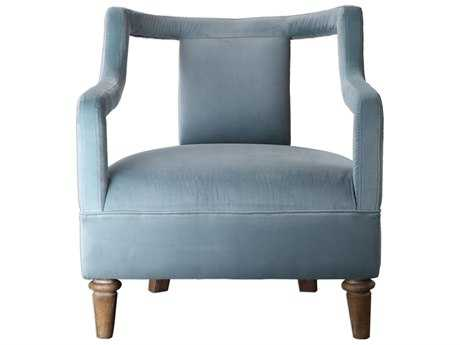 Uttermost Laela Ocean Blue Accent Chair