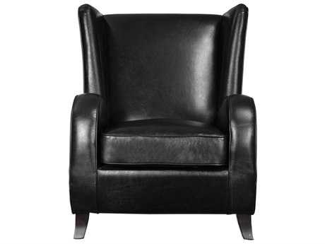 Uttermost Laney Black Accent Chair
