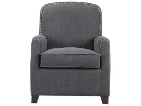 Uttermost Domicia Gray Club Chair