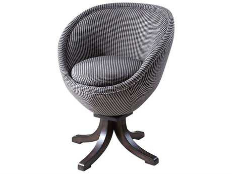 Uttermost Rufaro Houndstooth Accent Chair
