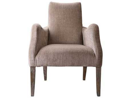 Uttermost Callee Charcoal Gray Accent Chair
