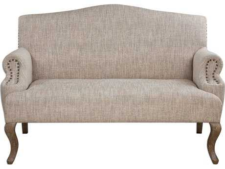 Uttermost Rigina Soft Tan Loveseat