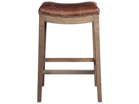 Uttermost Cochran Distressed Chocolate Barstool