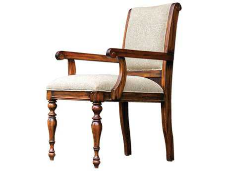 Uttermost Danek Honey & Light Tan Accent Chair