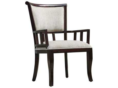 Uttermost Orlin Mahogany & Putty Dining Arm Chair Chair