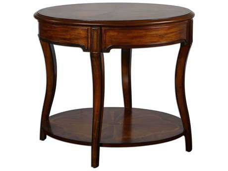 Uttermost Corianne 32 x 24 Oval Lamp Table