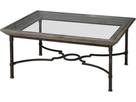 Uttermost Huxley 42 x 30 Rectangular Wooden Coffee Table