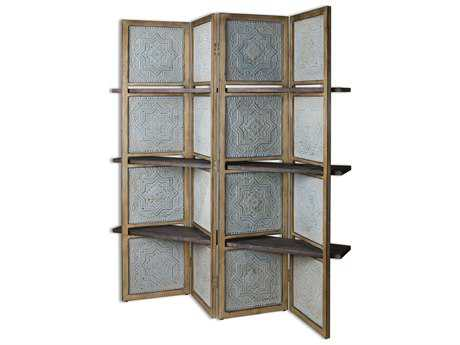Uttermost Anakaren Screen With Shelves