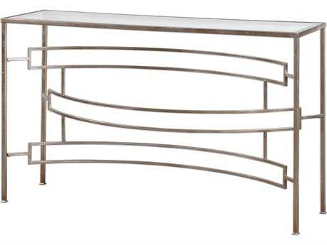 Uttermost Eilinora Silver 52.5'' x 15'' Rectangular Console Table