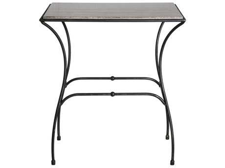 Uttermost Tamaya Aged Steel 26''L x 14''W Rectangular Accent Table