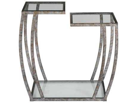 Uttermost Teeranie Burnished Silver 25.5''L x 14''W Rectangular Accent Table