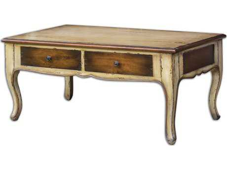 Uttermost Ruggerio 44 x 26 Rectangular Wooden Coffee Table