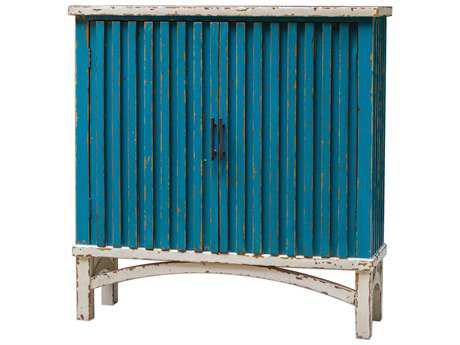Uttermost Juhani 33'' x 10.25'' Pacific Blue Accent Chest