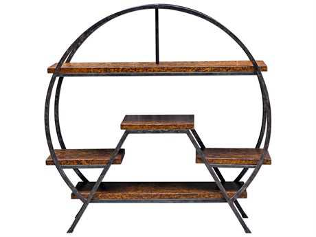 Uttermost Matthew Williams Ayoka Forged Iron Etagere