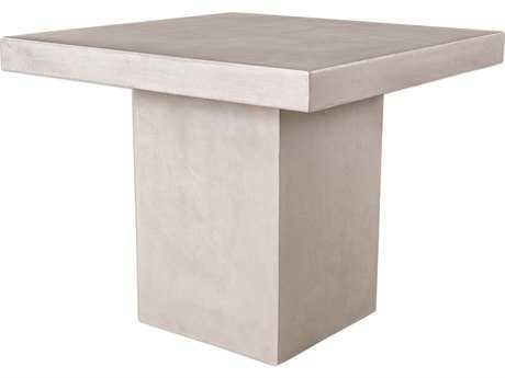 Uttermost Zaire 35.5'' Square Concrete Bar Height Table