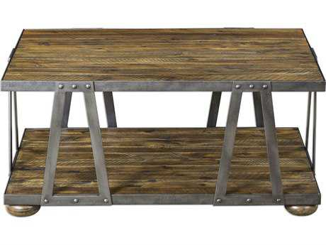 Uttermost Vladimir Honey 44.5'' x 26.5'' Rectangular Coffee Table