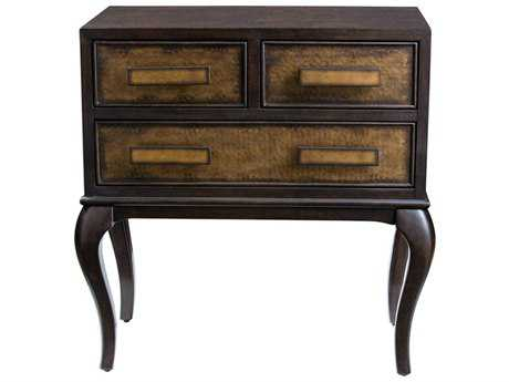 Uttermost Mayra Brown Mahogany & Burnished Copper 32''W x 18''D Accent Chest