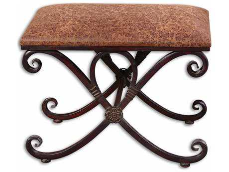 Uttermost Manoj Distressed Stool