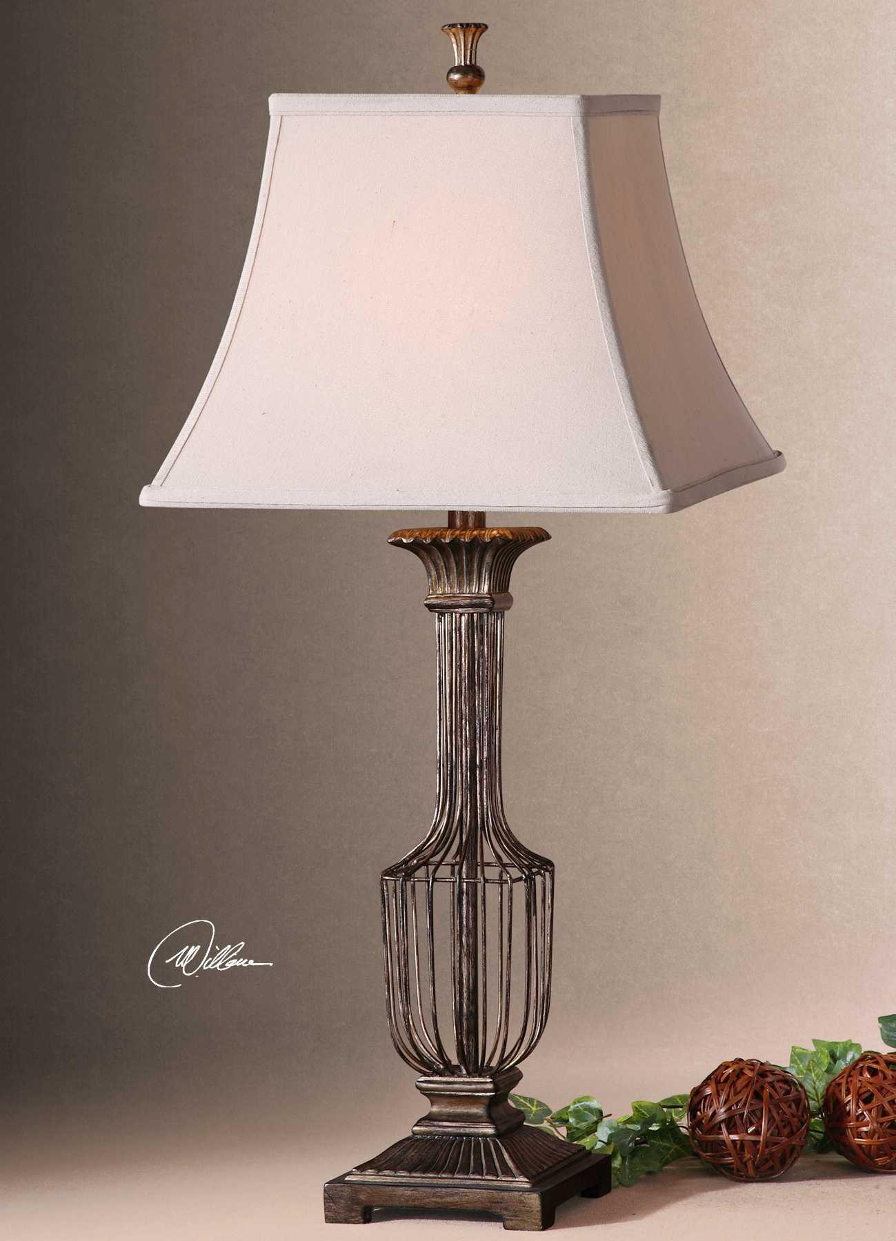 uttermost anacapri antique gold table lamp ut26262. Black Bedroom Furniture Sets. Home Design Ideas