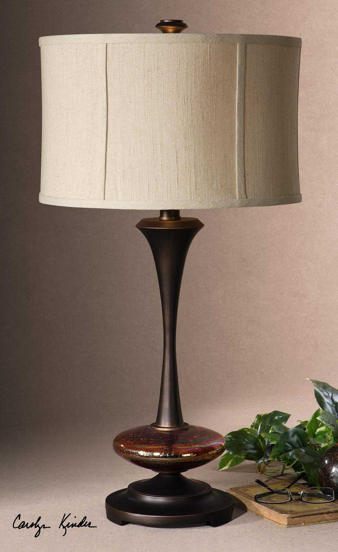 Uttermost Lahela Metal Table Lamp Ut264261