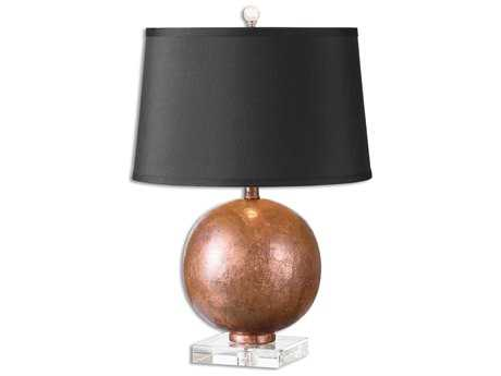 Uttermost Armel Oxidized Copper Table Lamp