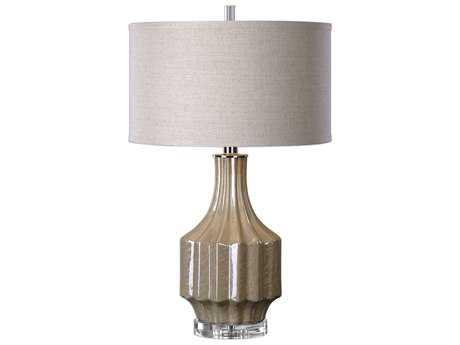 Uttermost Jim Parsons Barron Sand Brown Buffet Lamp