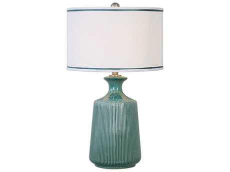 Uttermost Jim Parsons Molleres Teal Buffet Lamp