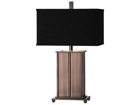 Uttermost Billy Moon Seyburn Antiqued Copper Buffet Lamp