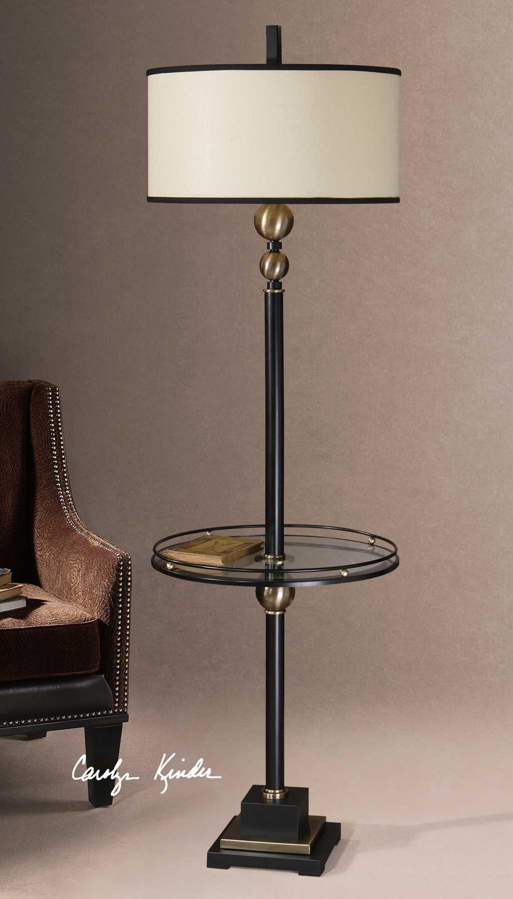 Uttermost Revolution End Table Floor Lamp Ut285711