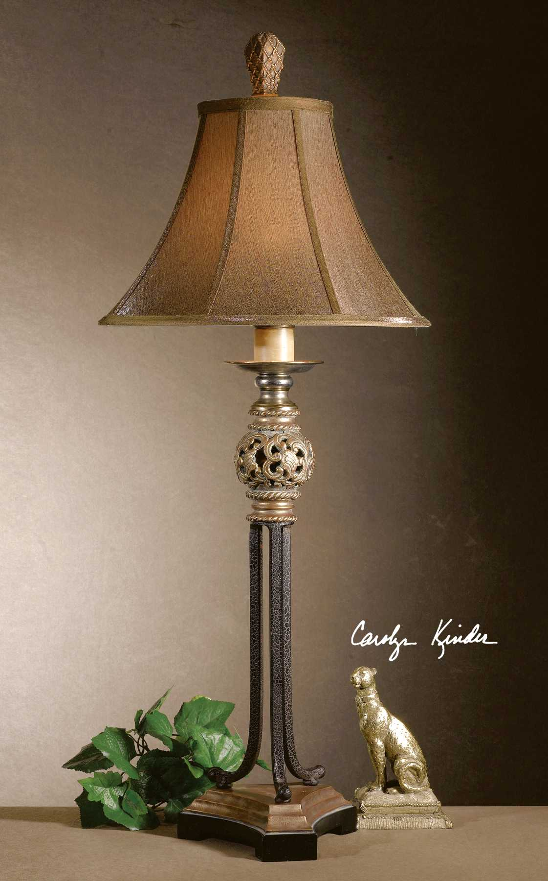 Uttermost Jenelle Iron Buffet Lamp Ut29091