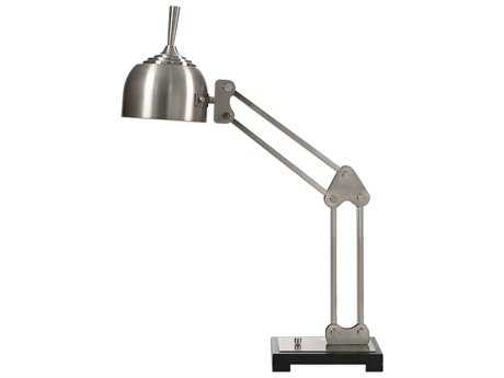 Uttermost Amado Brushed Nickel Desk Lamp
