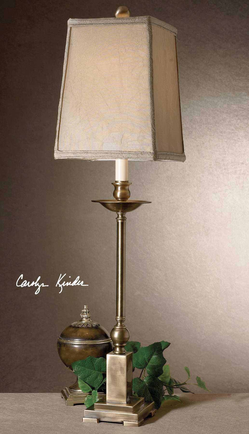 Uttermost Lowell Bronze Buffet Lamp Ut294271
