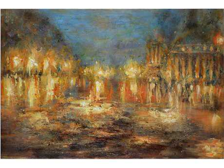 Uttermost Lights Of The City Abstract Art