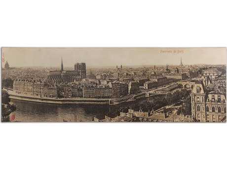 Uttermost Panorama De Paris Vintage Wall Art