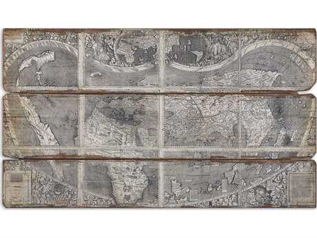 Uttermost Map Of The City Modern Wall Art