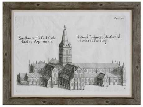 Uttermost Grace Feyock Salisbury Cathedral Architectural Print