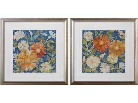 Uttermost Grace Feyock April Flowers Prints (Set of Two)