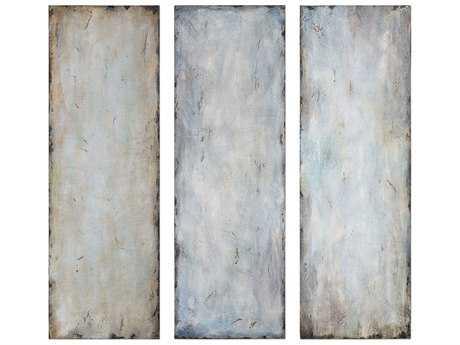 Uttermost Textured Trio Abstract Art (Three-Piece Set)