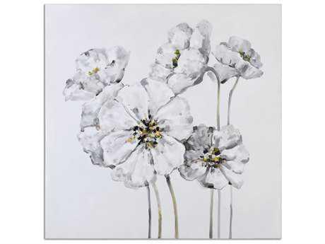 Uttermost Impact Fleurs Floral Wall Art