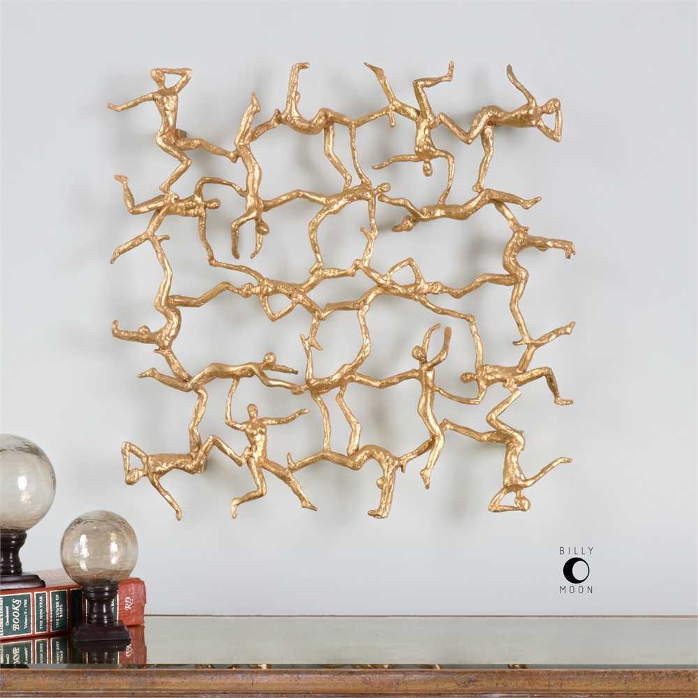 Uttermost Billy Moon Golden Gymnasts Wall Art Ut4037