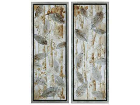 Uttermost Pressed Leaves Wall Art (2 Piece Set)