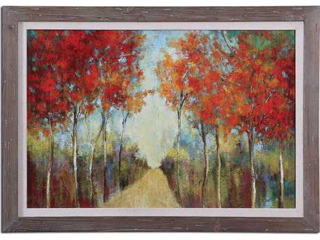 Uttermost Nature's Walk Landscape Wall Art