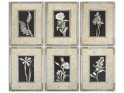Uttermost Glowing Florals Framed Wall Art (6 Piece Set)