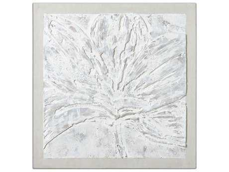 Uttermost Ghost Bloom Floral Wall Art
