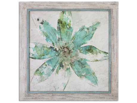 Uttermost Pinwheel Floral Wall Art