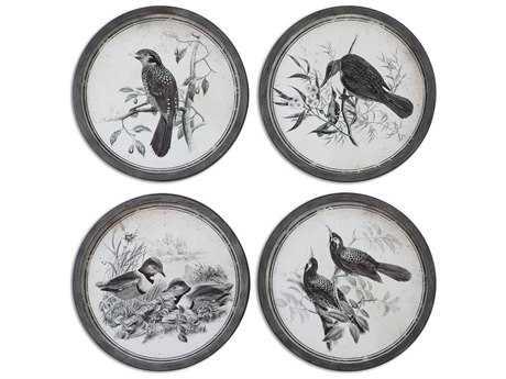 Uttermost Birds In Nature Framed Wall Art (4 Piece Set)