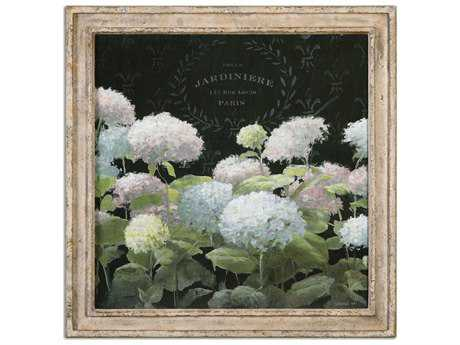 Uttermost La Belle Jardiniere Crop Framed Wall Art