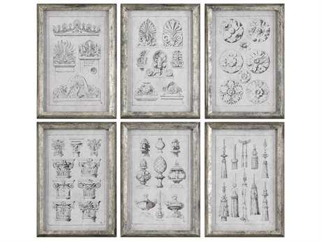 Uttermost Grace Feyock Architectural Accents Prints (Set of Six)