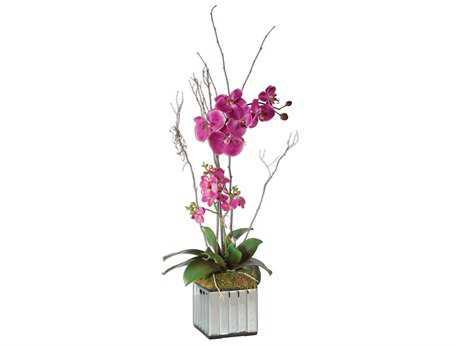 Uttermost Kaleama Fuschia Orchids