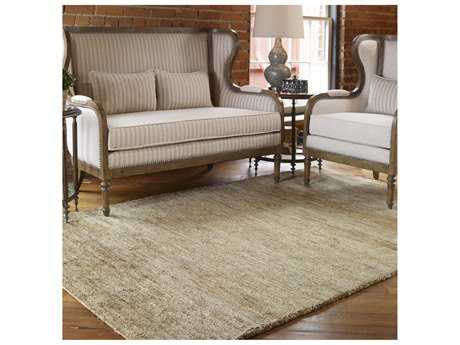 Uttermost Mounia Rectangular Rust Brown Area Rug